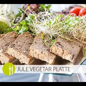 Go jule vegetar platte